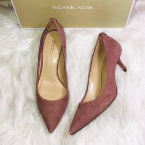 Michael Kors Shoes - Michael Kors Kitten Pump Dusty Rose 6.5